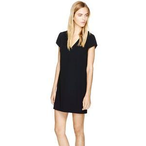 Babaton Jameson Dress Aritizia Size 2 Black Shift